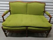 Vintage Green Hickory Chair Furniture Company Office Set Or Love Seat