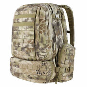 Condor 50l Tactical Backpack Molle 3-day Assault Pack Kryptek Highlander