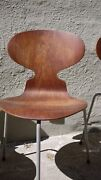 Arne Jacobsen Ant Chair 1952 First Edition Rare Vinyl Wrapped Legs
