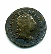 1772 Maundy Penny 1d Uncirculated Great Britain Rare
