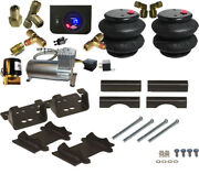 B Air Leveling Tow Kit 3500 Ram 2014-2018 No Drill With Digital Gauge
