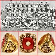 Chicago Cardinals 1947 Charley Trippi Championship Ring Size 11