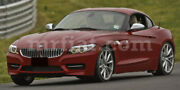 Bmw Z4 Roadster E89 Red Indoor Fabric Car Cover W/ Mirror Pockets 09-17