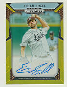 2019 Prizm Draft Gold Refractor Autograph 54 Ethan Small Rc Rookie 5/10 Auto