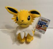 """Jolteon Plush 9"""" H, Pokemon Xy Tomy ,official Products"""