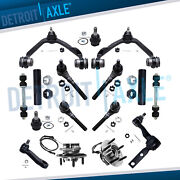 16pc Front Upper Lower Control Arms Wheel Hub Kit For 2000-2003 Ford F-150 4wd