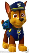 Paw Patrol Chase The Police Puppy - Window Cling Sticker Decal Childrens Tv Show