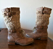 Report Ladies Nyland Slouch Sweater Boots - Excellent Condition - Size 5