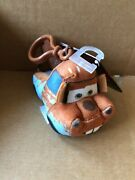 Disney Cars - Mater - Plush Bag Clip -combined Postage