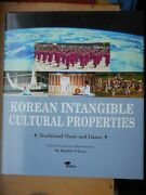 Korean Intangible Cultural Properties Traditional Music And Dance 2000 Hollym