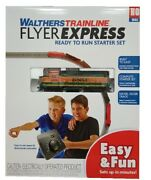 Ho Scale Walthers Trainline 931-120 Rtr Bnsf Flyer Express Train Set