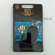 Disney Parks Haunted Mansion 50th Anniversary Doom Buggy Hitchhiking Ghost Pin