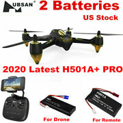 Hubsan H501a+ Pro Fpv App Drone 1080p Quadcopter W/ Brushless Gps Rtf+2battery