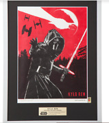 Star Wars Wood Print Collection Kylo Ren Traditional Crafts Japan Limited Item