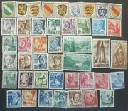 Germany -french Ocupation Zone Stamp Collection 1946-1949. Used And Unused