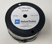 Wedge Lead 2 - 25 Lb Roll 1/2 Wide X 1/8 Thick