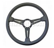 Alfa Romeo Spider Nardi Black Leather Steering Wheel 365 Mm New