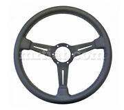 Alfa Romeo Gt Junior Gtv Nardi Black Leather Steering Wheel 365 Mm New