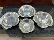 And Co Sterling Silver Vintage Dish Set