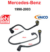 Mercedes Fuel Filter Updated 3-piece Fuel Hose Lines For W163 Ml320, Ml430, Ml55