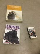Lot Of Train Books,lionel Trains 1945-1969 Doyle, Yonder Comes The Train, And Misc