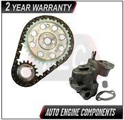 Timing Chain And Oil Pump Fits Chevrolet Buick Roadmaster 5.0l 5.7l