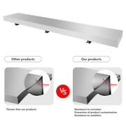 Convenient Serving Shelf For Concession Window Stands And Food Trucks 6 Ft