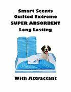 23x36 Quilted Smart Scents Heavy Duty Puppy Training Pads W Special Attractant