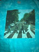 Awesome Beatles Abbey Road Tie-dye T-shirt Size 2xl Distressed Preowned