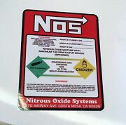 20 Piece No Weight Nos Nitrous Oxide Bottle Label Sticker Decal The Best Quality