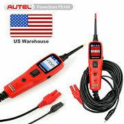 Autel Powerscan Ps100 Electrical System Circuit Avometer Tester Diagnostic Tool