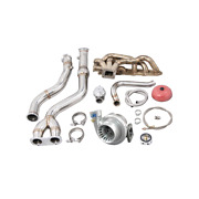 Cxracing Turbo Manifold Downpipe Kit For Bmw E46 M3 With S54 Engine