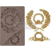 Prima Marketing Mould Mold Laurel Wreath Food Safe Clay Candy Chocolate Resin