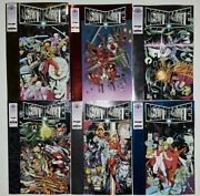 Deathmate Lot Of 61993-94 Valiant/imageprologue/black/blue/yellow/red