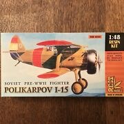 1/48 Rest Polikarpov I-15 Resin W/pe The Most Accurate And Detailed I-153 Kit Oop