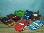 Disney Store Pixar Cars Mcqueen, Ramone, Mater And More Displayed Only Loose