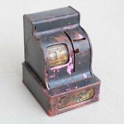 Small Tin Metal Toy Cash Register Old Asis Pictures Show All I Know Ih