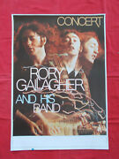 +++ 1978 Rory Gallagher Photo-finish Tour Poster By Kieser Germany Original