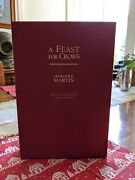 A Feast For Crows Signed Limited Edition Game Of Thrones Hardcover Book 2005