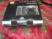 Used Nikon Coolpix S9050 12.1mp Digital Camera - Silver -very Nice--work Tested