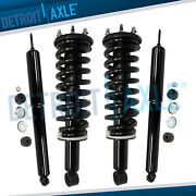 Front Struts W/ Coil Spring + Rear Shocks Absorbers For 2000-2006 Toyota Tundra