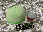 Hiflo Oil Filter And Air Filter Service Kit For Suzuki Drz400s Dr-z400 S 2000-2019