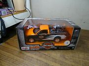 Maisto F-150 Ford W/ Harley Davidson 1958 Flh Duo Glide Toy Truck And Bike