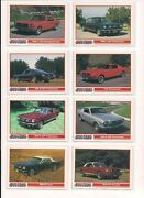 Mustang Car Trading Cards / Singles U Pick / Choose Your Card Choice / Bx56