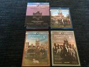 Downton Abbey Seasons 1-4+highclere Castle Blu-ray And Seasons 5/6 Dvd-complete