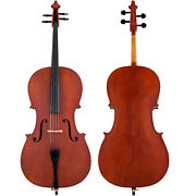 Scherl And Roth Arietta Student 4/4 Cello Outfit With Bag Rosin And Bow