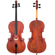 Scherl And Roth Hand Crafted Galliard Student 4/4 Cello With Bag Rosin Bow