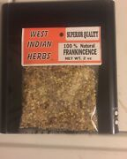Frankincense 2 Oz Two Ounces West Indian Herbs.brand