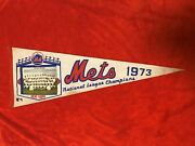 1973 New York Mets National League Champions Full Size Photo Pennant