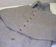 C.s. Gray Wool Greatcoat. Size 42. Jarnagin. Used. Price Reduced